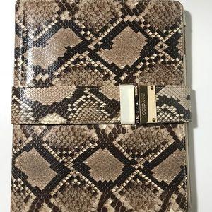 Jimmy Choo Ripley elaphe snakeskin iPad case